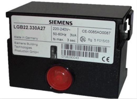 根据选用的控制类型,其火焰监控是通过离子棒,强制通风燃油 / 燃气燃烧器的兰火焰探测器QRC1...或一个UV火焰探测器(带辅助设备 AGQ2 A27)。 LGB...燃烧控制器替代其早先产品LFI7...和LFM1...,并且带有相关的适配器。(同样参考《订货》下的《型号一览》)。 - 符合EN 676自动强制通风燃烧器 - 符合EN 298的燃气燃烧器控制器 - 低电压监控 - 空气压力检测:在启动和运行时气压开关的功能检测 - 便捷的远程复位 - LGB41.